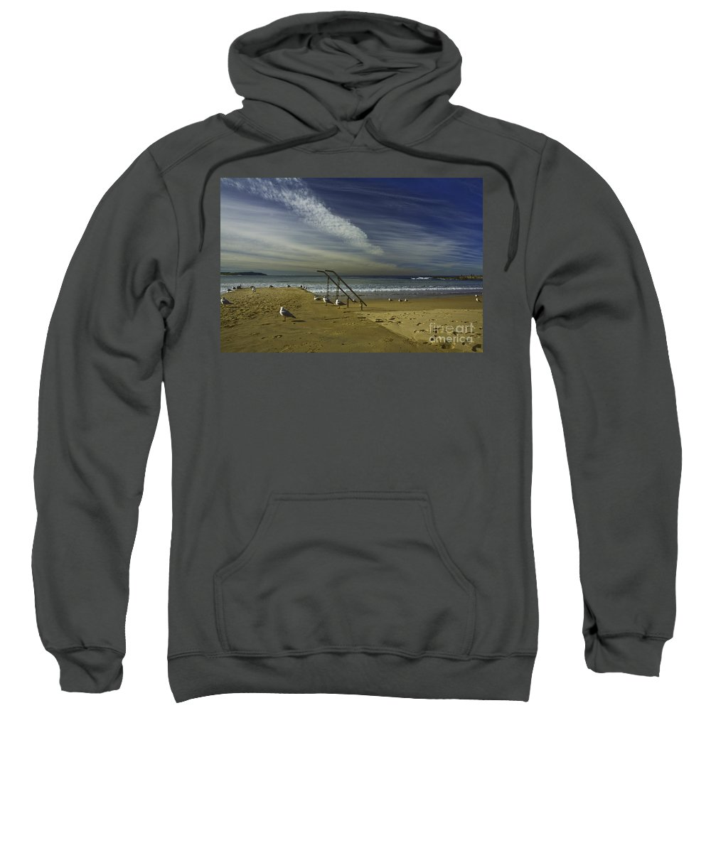 Beach Sweatshirt featuring the photograph Dee Why Beach Sydney by Sheila Smart Fine Art Photography
