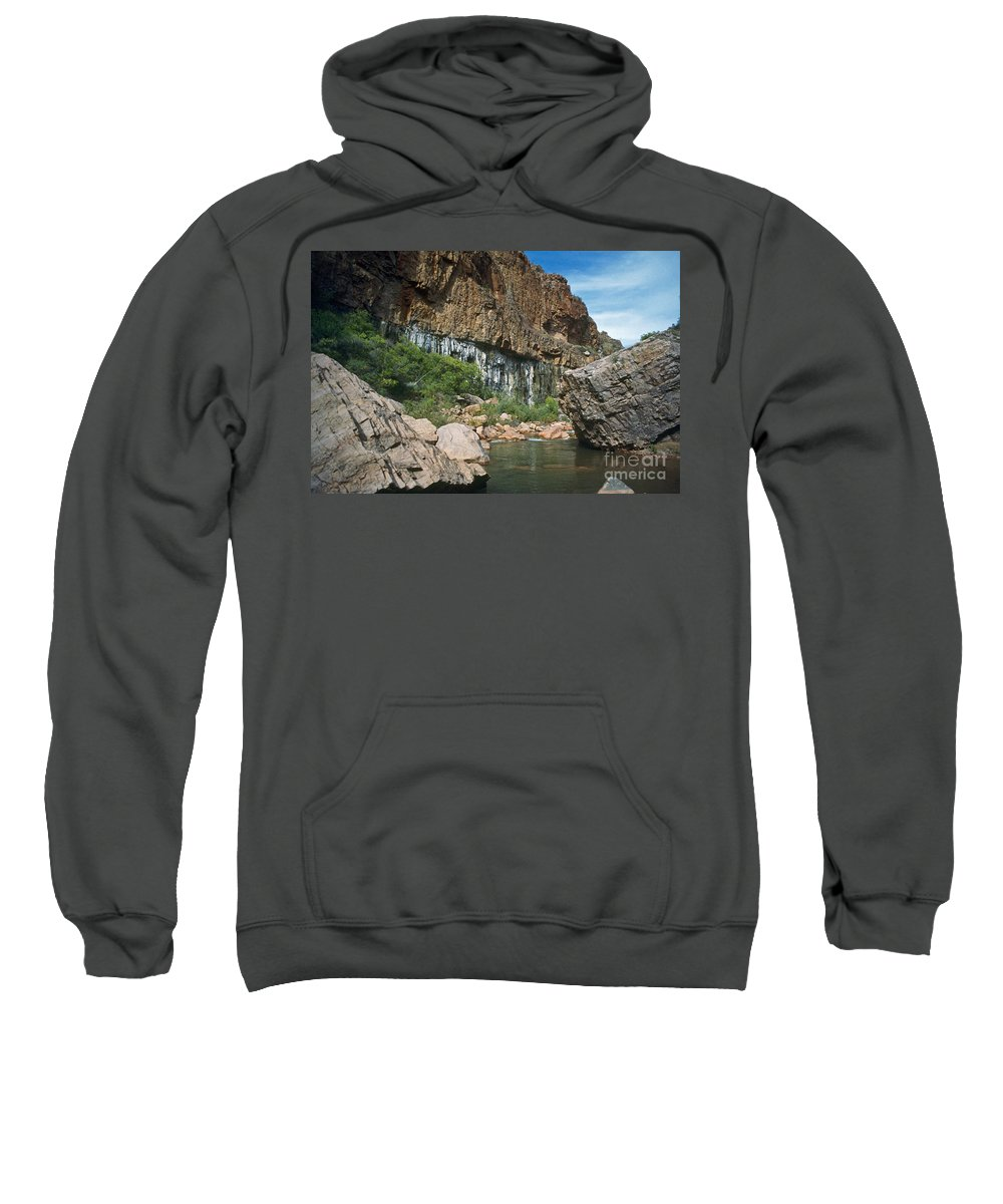 Landscape Sweatshirt featuring the photograph Deep Water by Kathy McClure