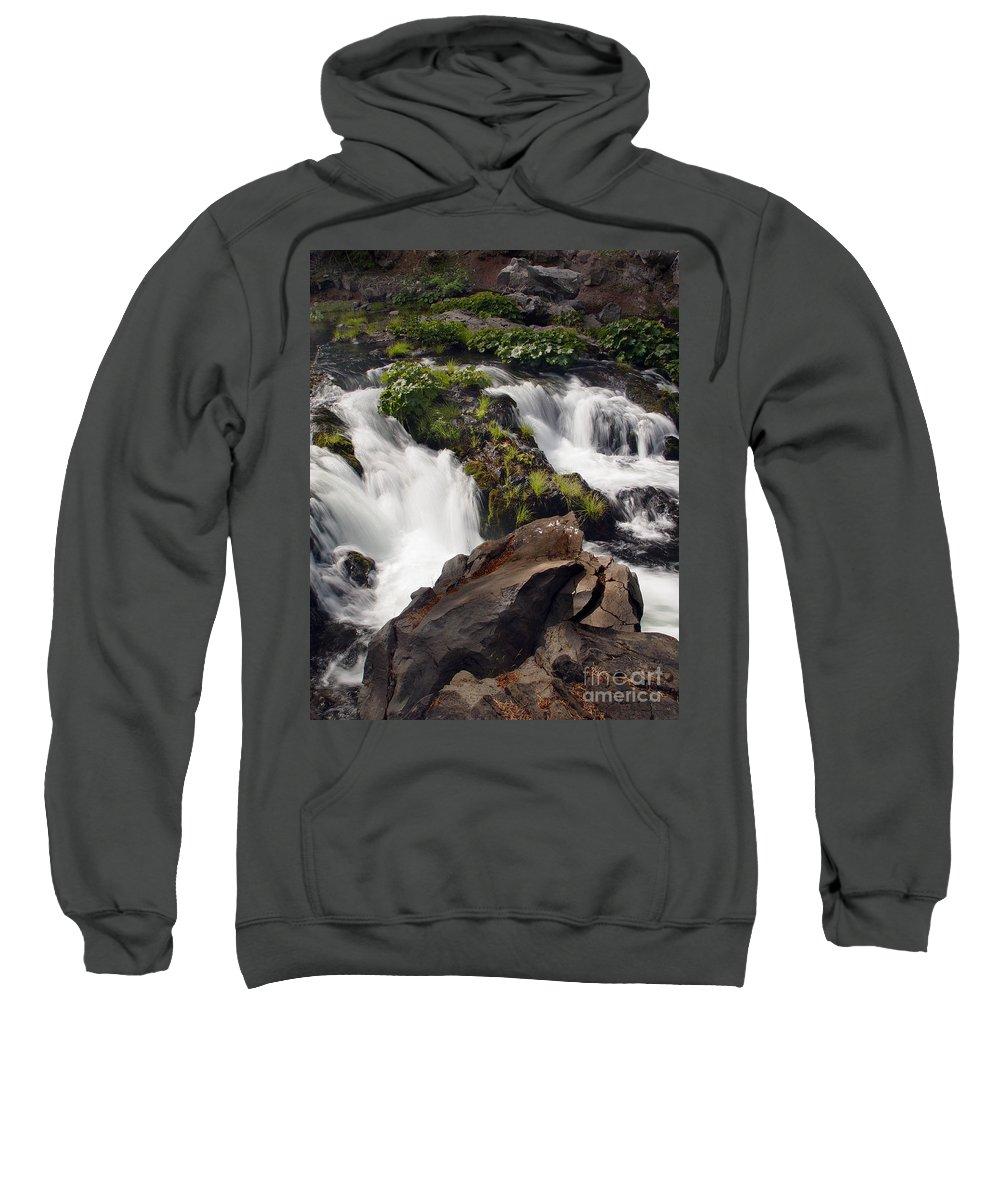 Creek Sweatshirt featuring the photograph Deer Creek 12 by Peter Piatt