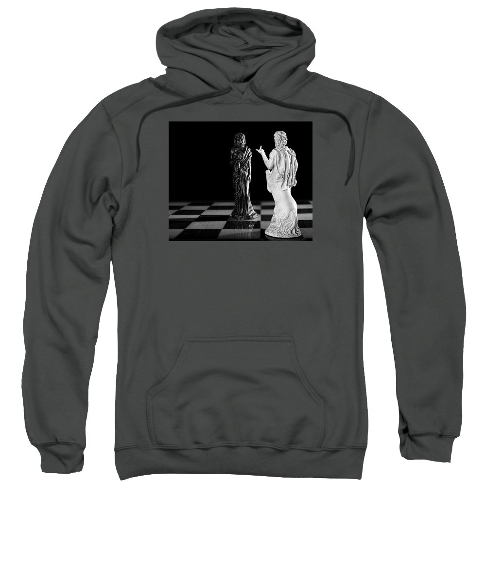 Defiance Sweatshirt featuring the photograph Defiance by Robert Och