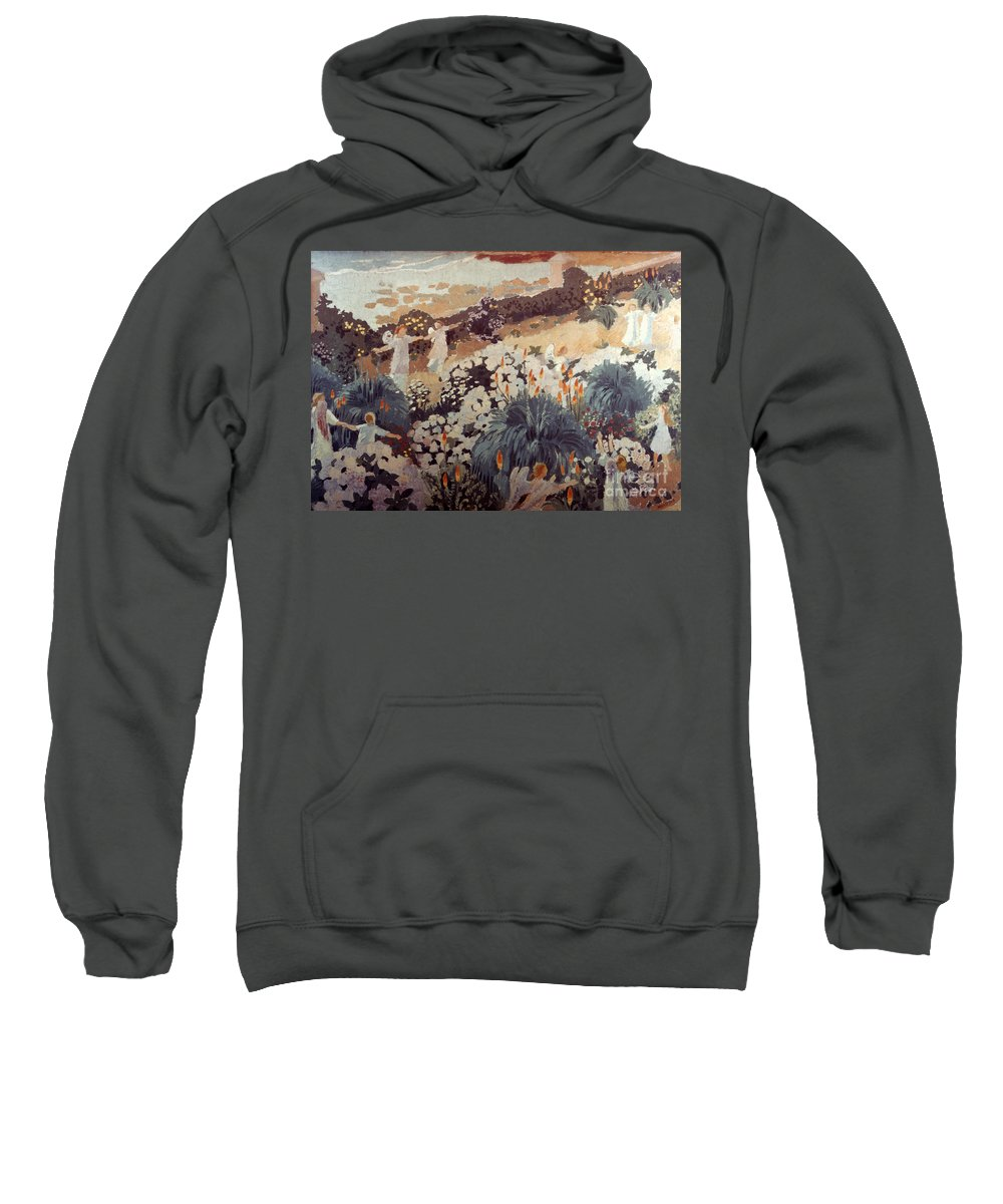 1912 Sweatshirt featuring the photograph Denis: Paradise, 1912 by Granger