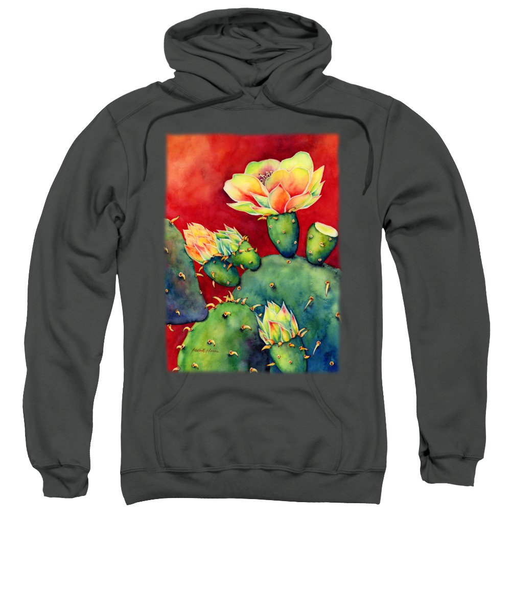 Floral Garden Hooded Sweatshirts T-Shirts