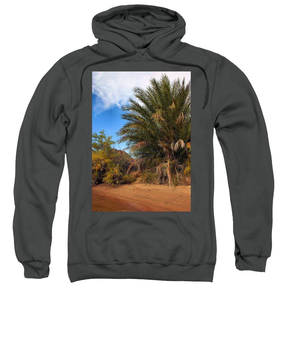 Desert Sweatshirt featuring the photograph Desert Isle by Kristin Elmquist