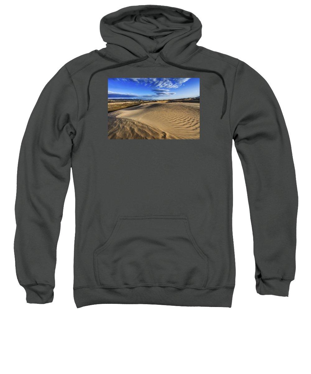 Desert Texture Sweatshirt featuring the photograph Desert Texture by Chad Dutson