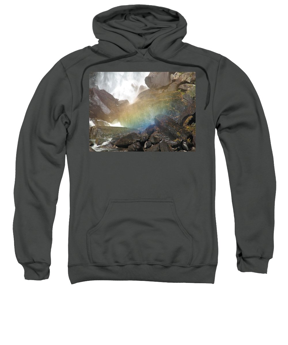 Devil's Fork Sweatshirt featuring the photograph Devil's Rainbow by Kelly Mezzapelle