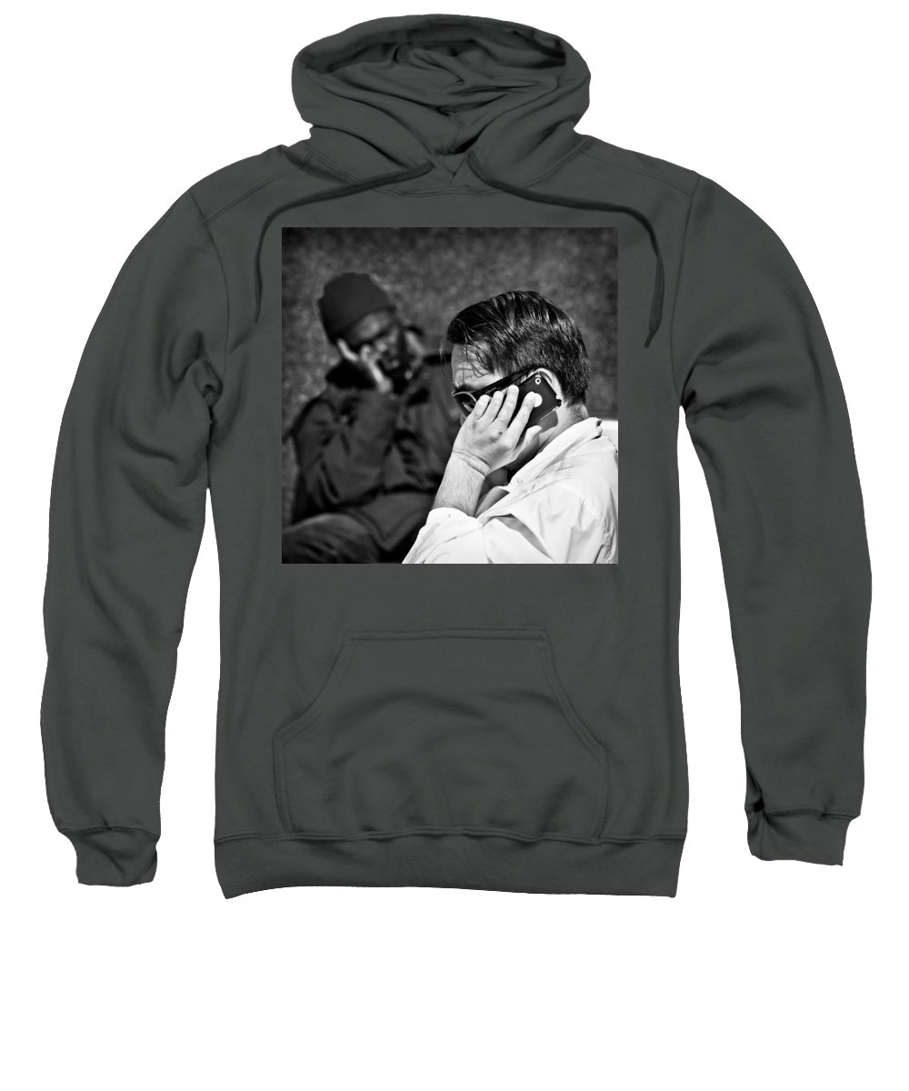 People Sweatshirt featuring the photograph Different Lives by Dave Bowman