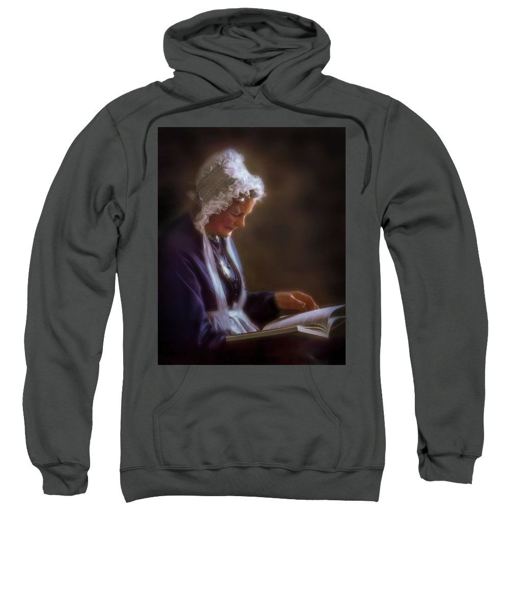 Antique Sweatshirt featuring the photograph Dignity Of Age by Peter Hayward Photographer