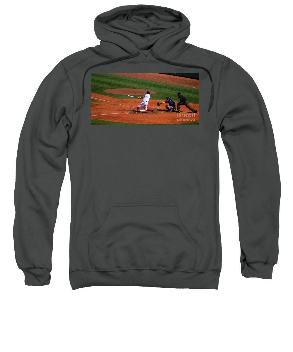 Home Sweatshirt featuring the photograph Dinger by Ray Konopaske