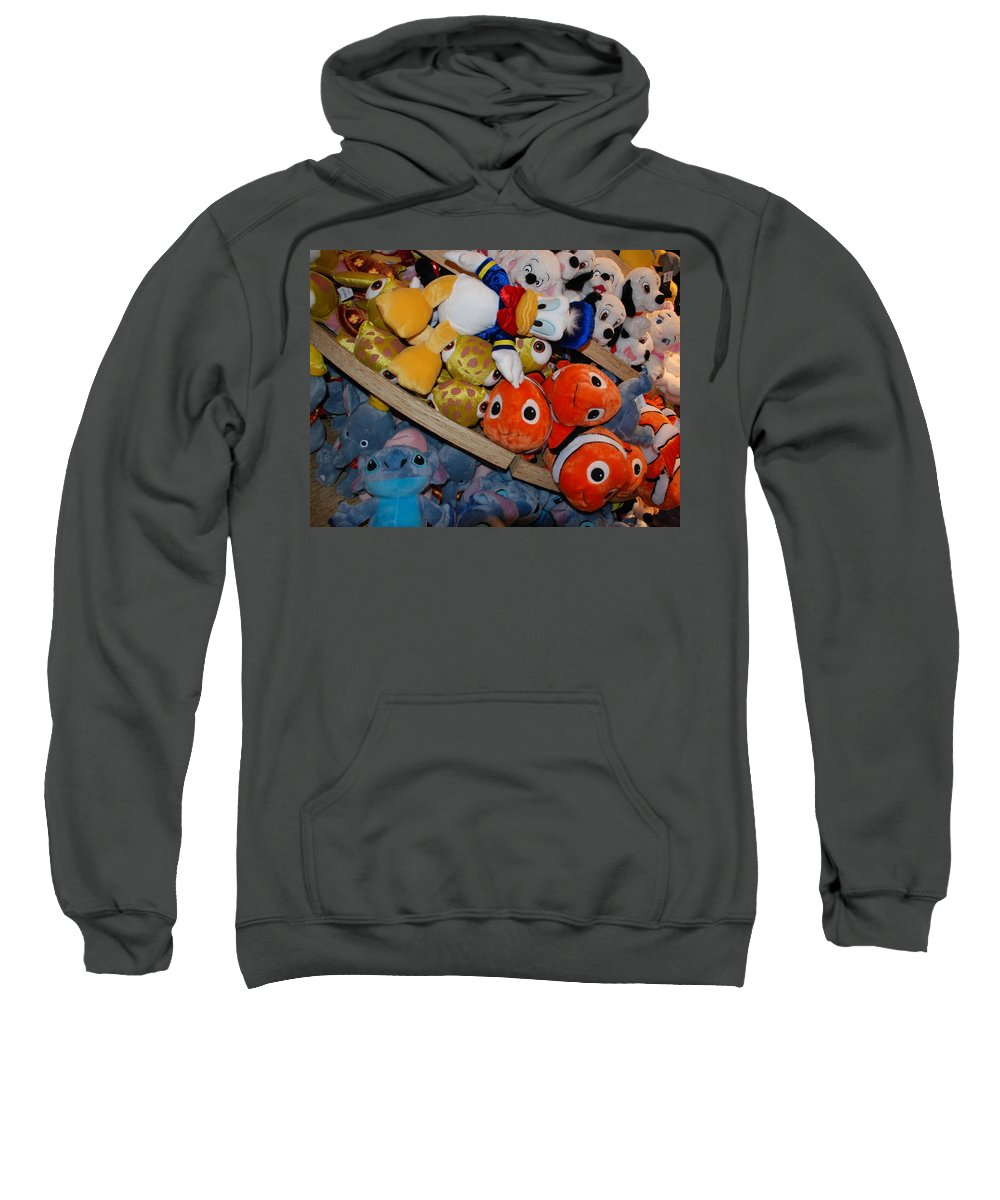 Colors Sweatshirt featuring the photograph Disney Animals by Rob Hans