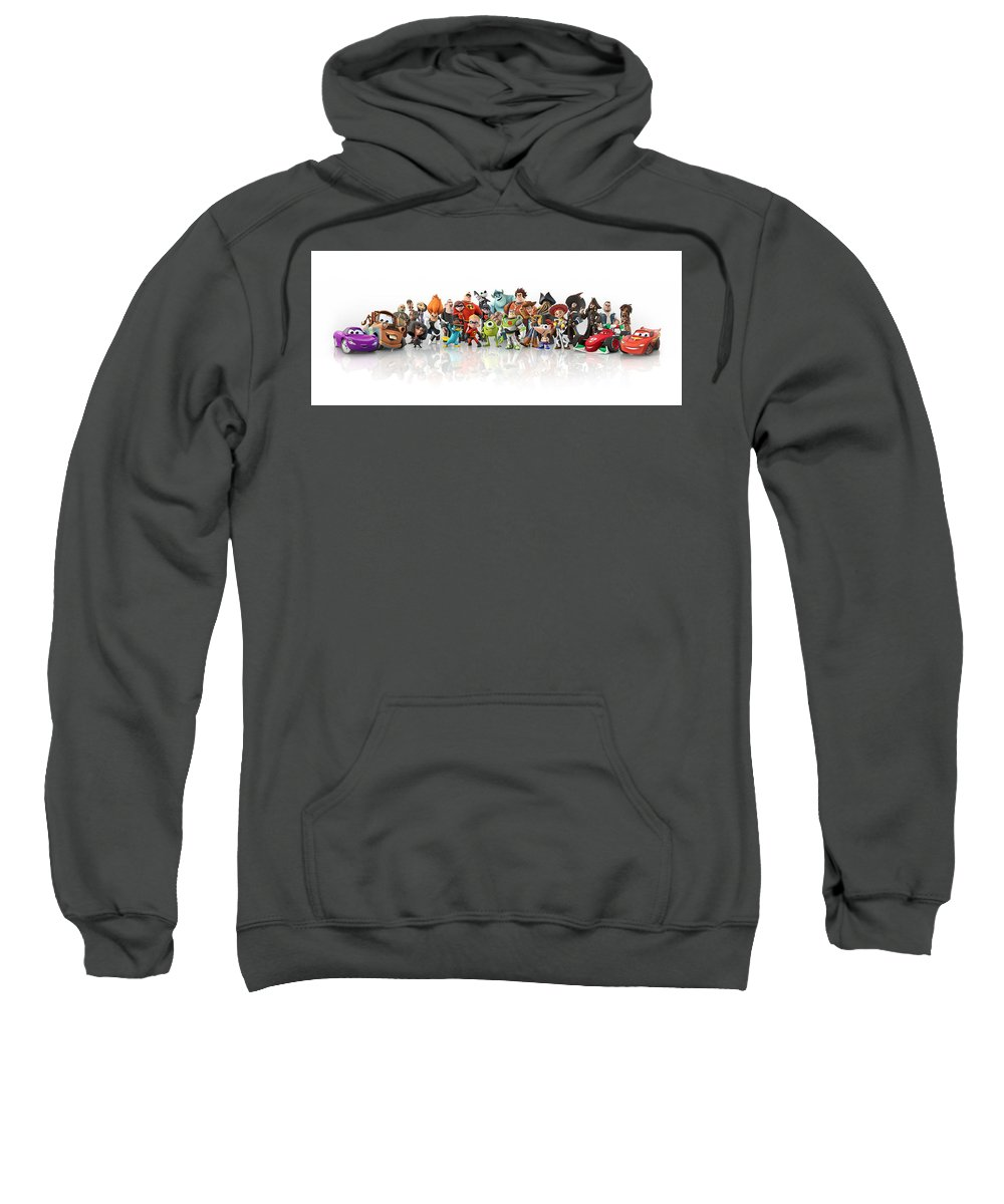 Disney Infinity Sweatshirt featuring the digital art Disney Infinity by Bert Mailer