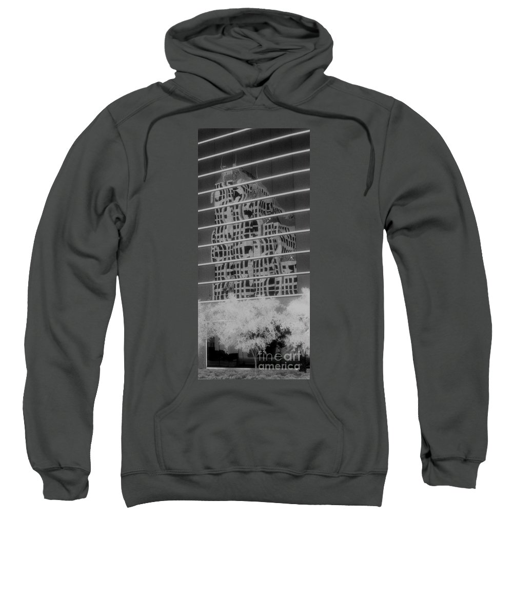 Distorted Sweatshirt featuring the photograph Distorted Views by Richard Rizzo