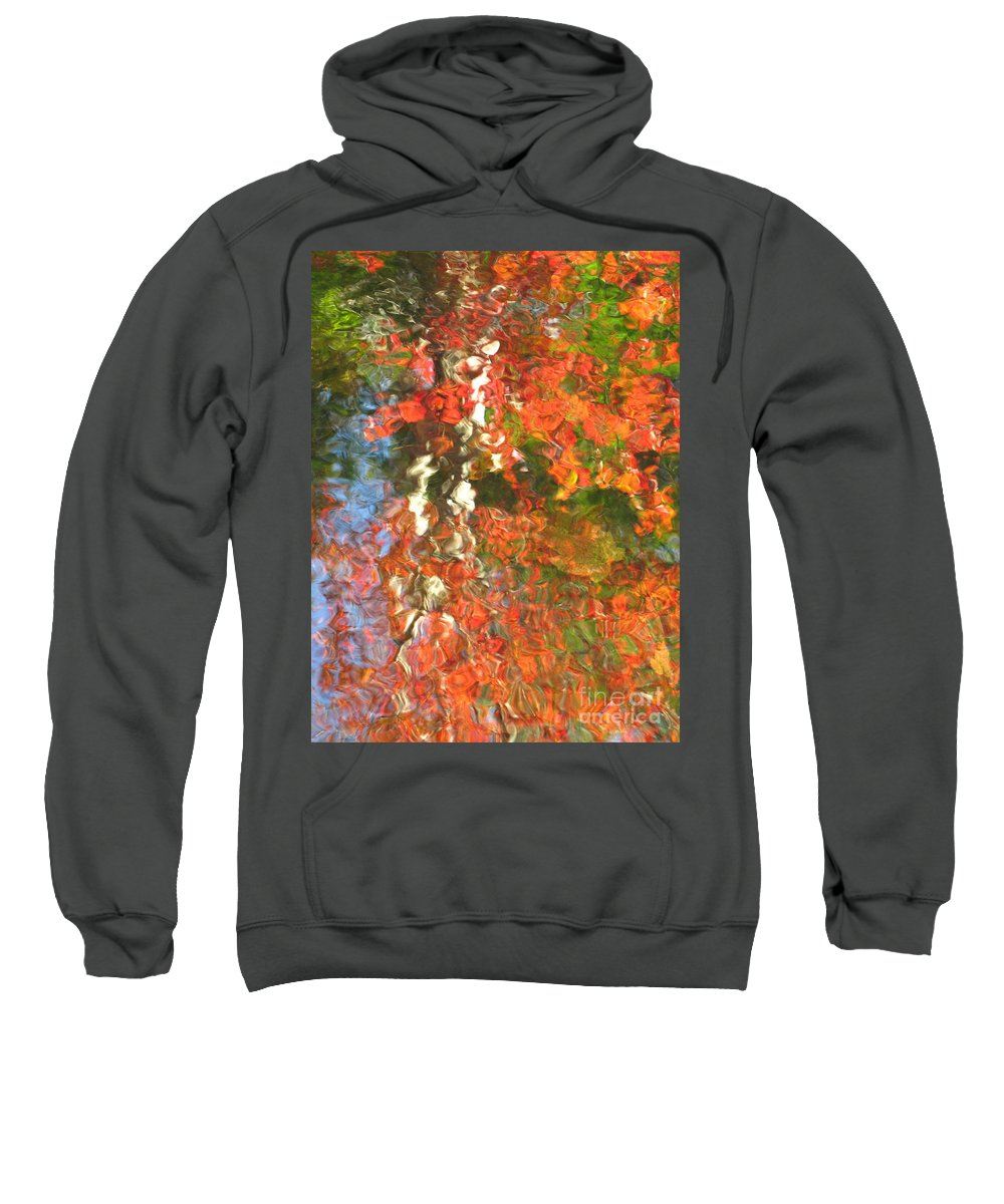 Colorful Liquid Sweatshirt featuring the photograph Delight by Sybil Staples