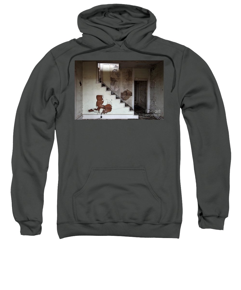 Do You Hear Me Sweatshirt featuring the photograph Do You Hear Me Whispering by Amanda Barcon