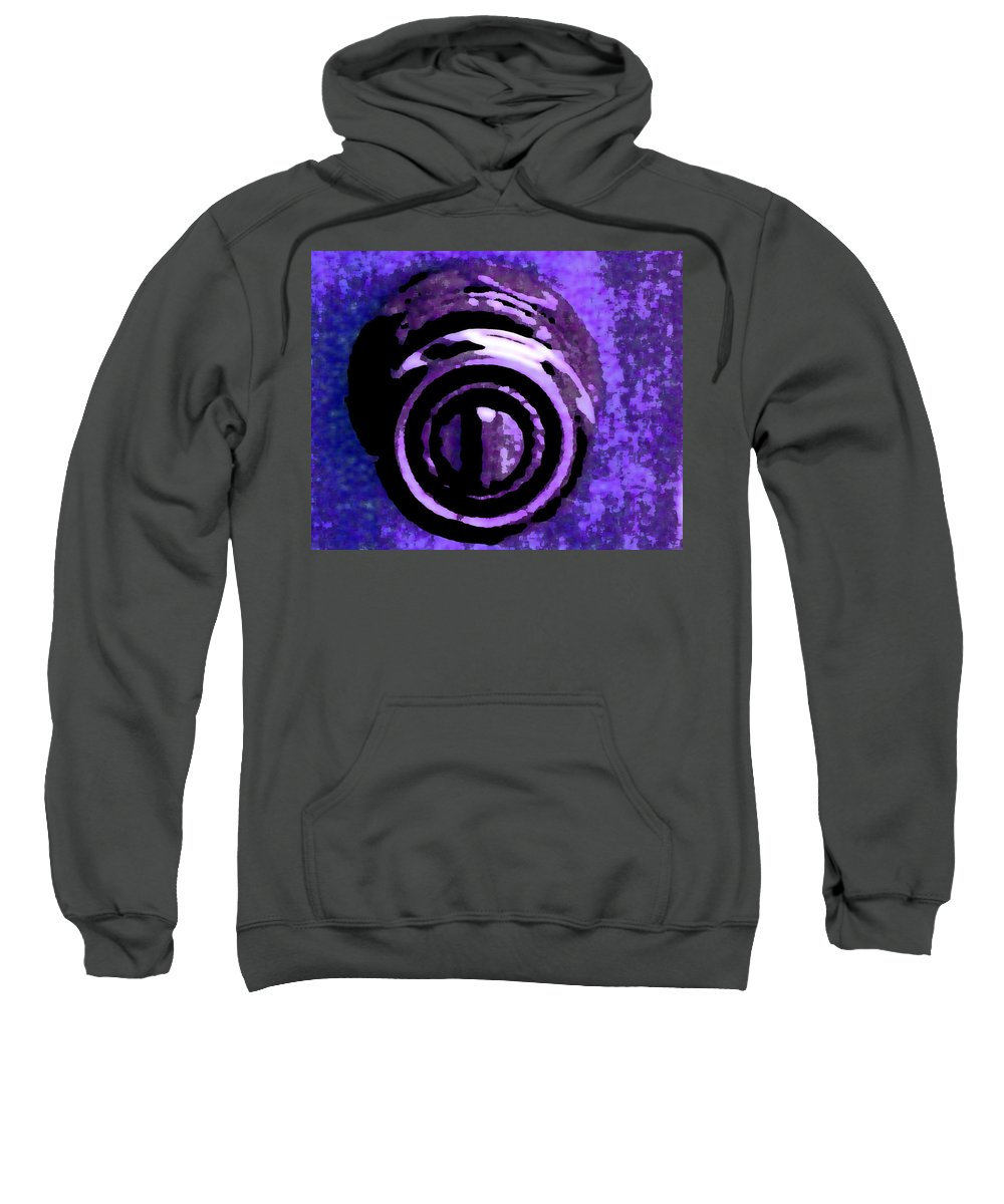 Abstract Sweatshirt featuring the photograph Doorknob 2 by Lenore Senior