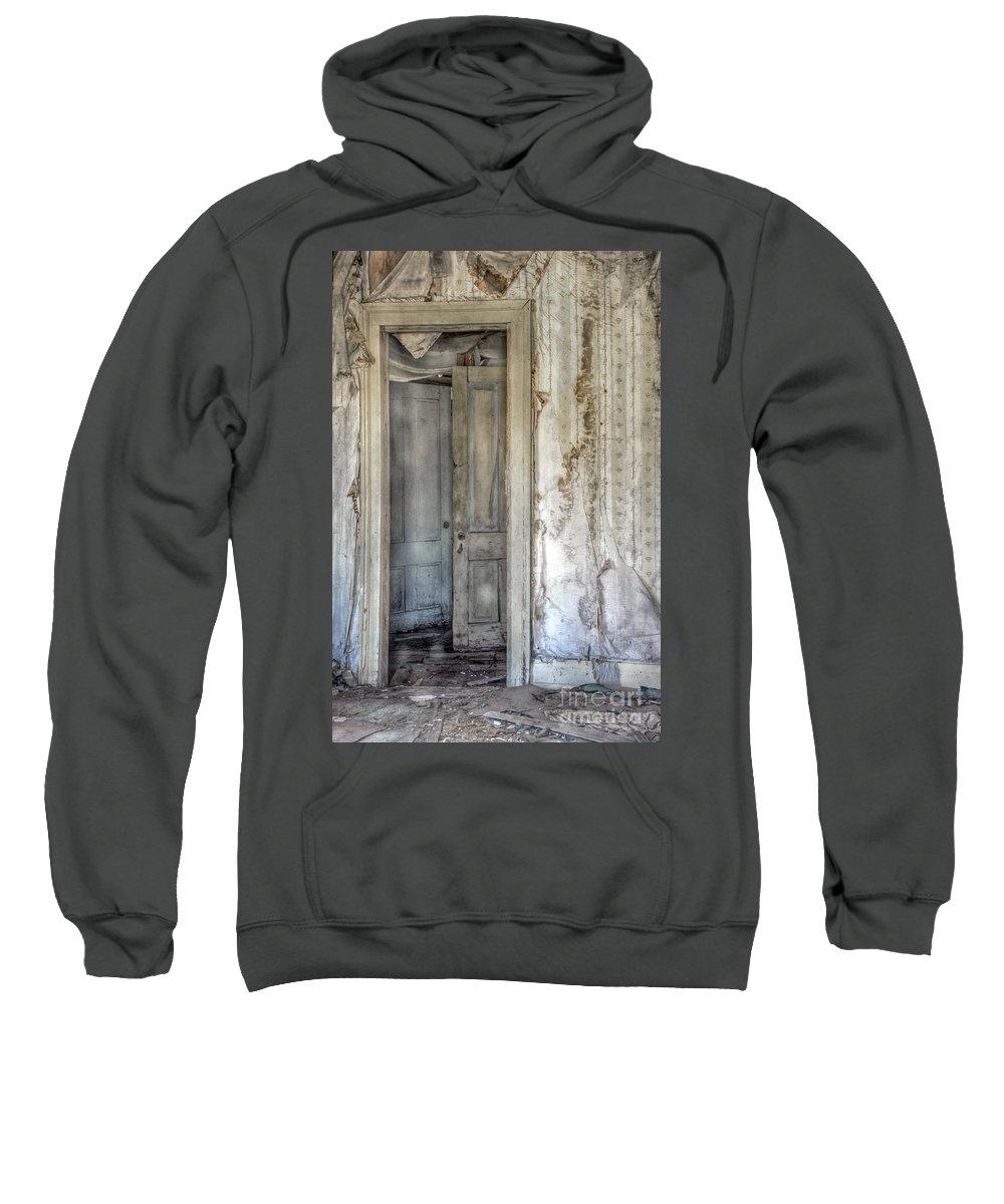 Foyer Sweatshirt featuring the photograph Doorway To Doors by Margie Hurwich