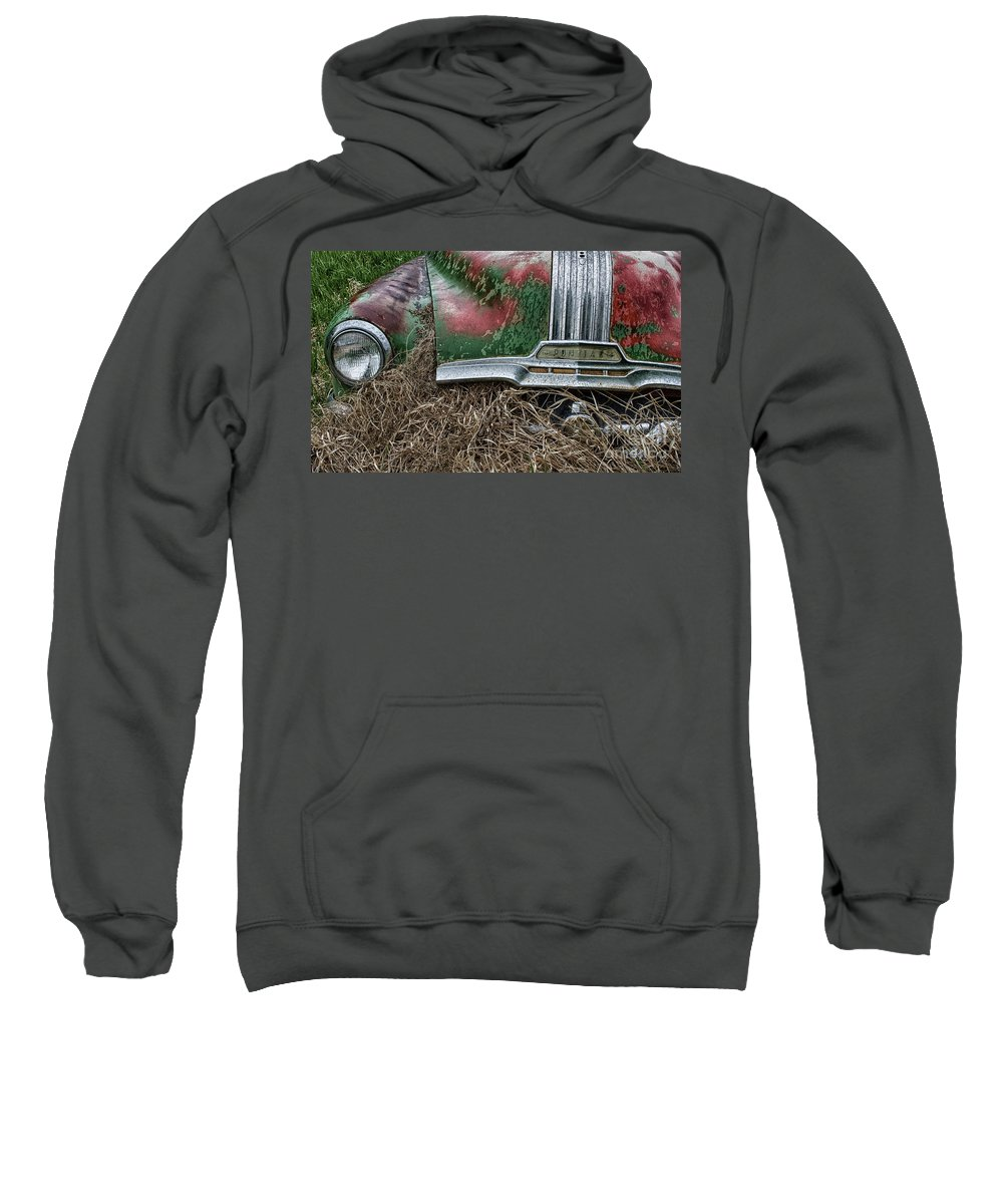 Antiques Sweatshirt featuring the photograph Down In The Dumps 19 by Bob Christopher