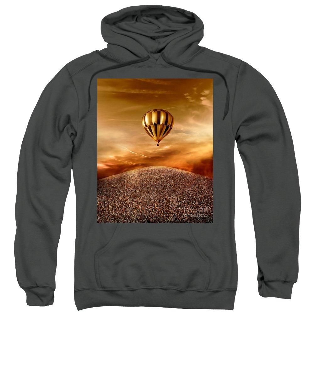 Golden Sweatshirt featuring the photograph Dream by Jacky Gerritsen