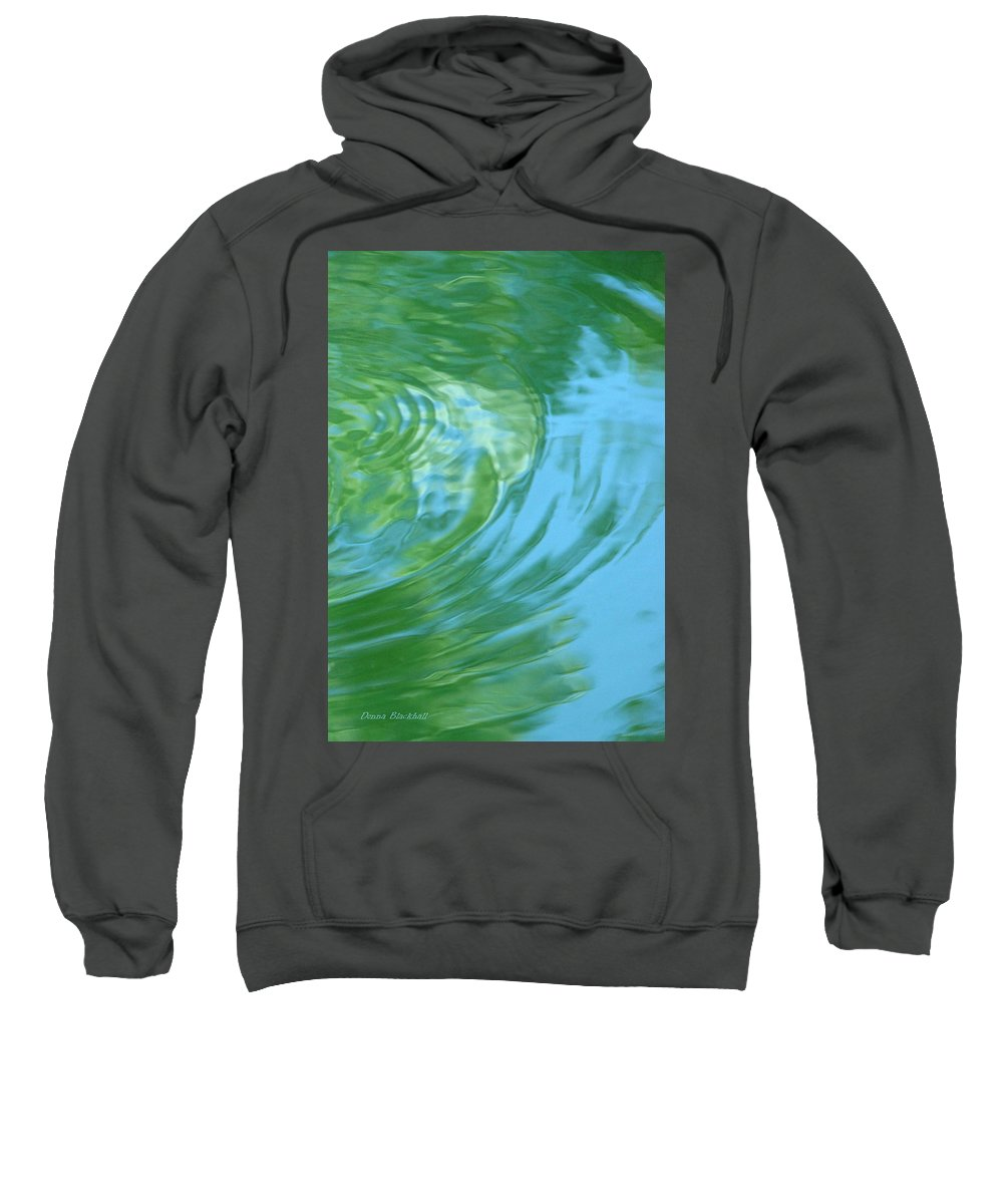 Water Sweatshirt featuring the photograph Dream Pool by Donna Blackhall