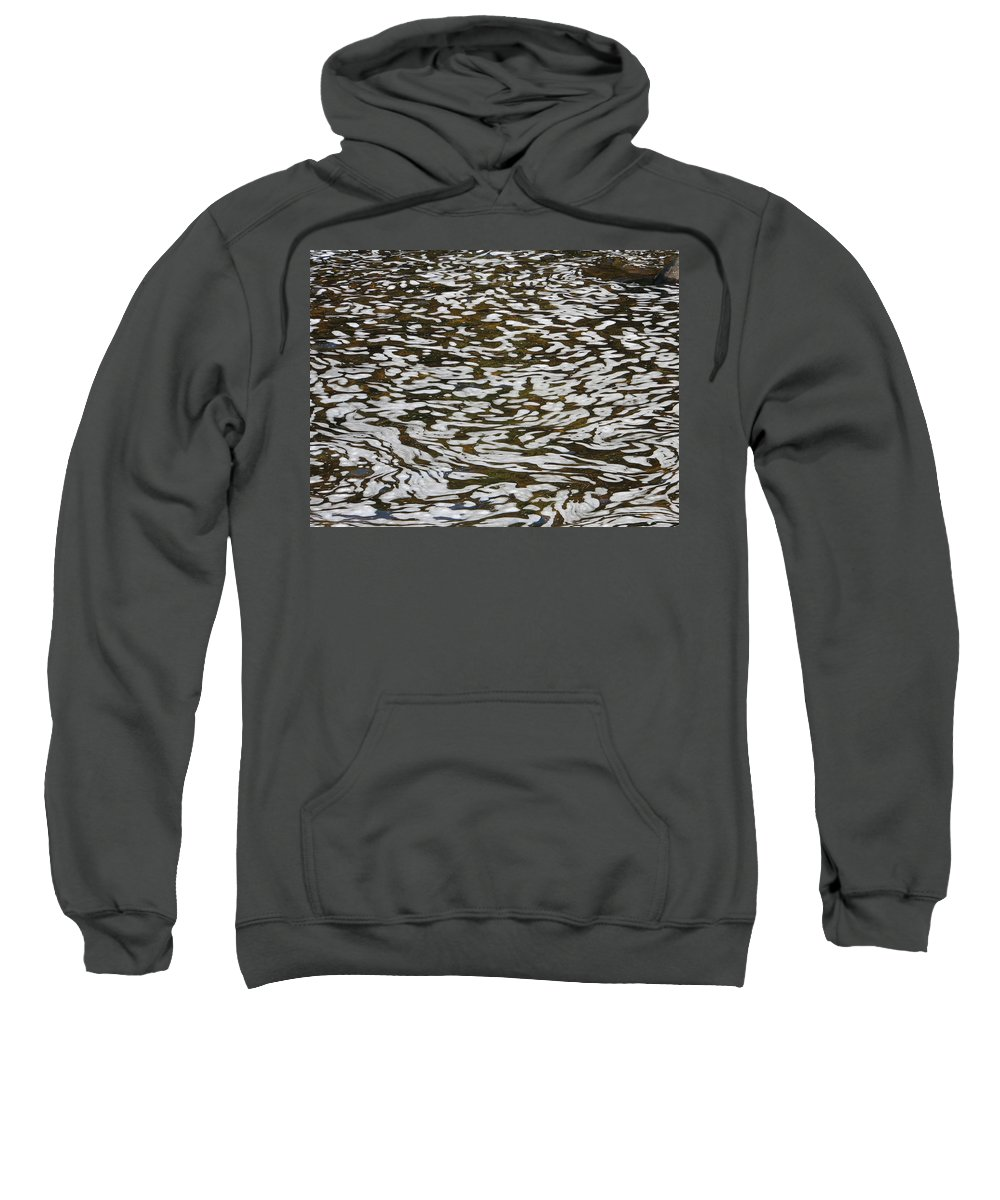 River Sweatshirt featuring the photograph Dreams by Kelly Mezzapelle