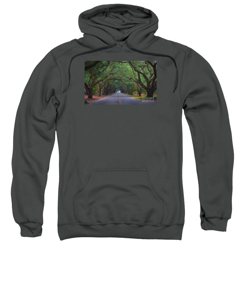 Scenic Tours Sweatshirt featuring the photograph Dreamy Boundry by Skip Willits