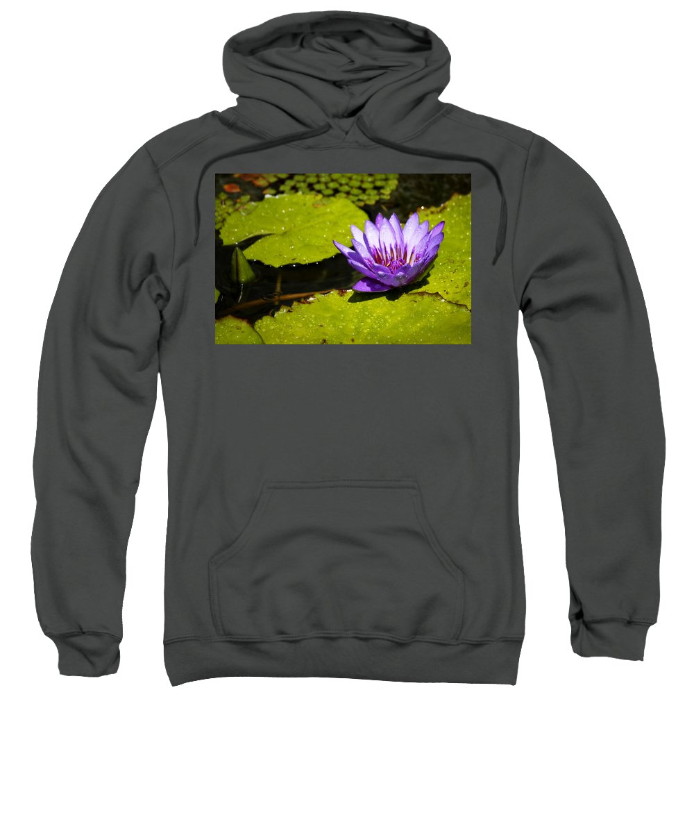 Water Sweatshirt featuring the photograph Droplets by Teresa Mucha