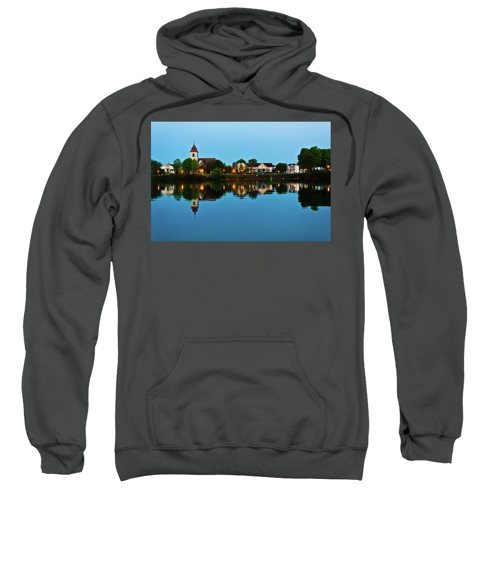 Basel Sweatshirt featuring the photograph Early Morning In Basel by Jill Smith