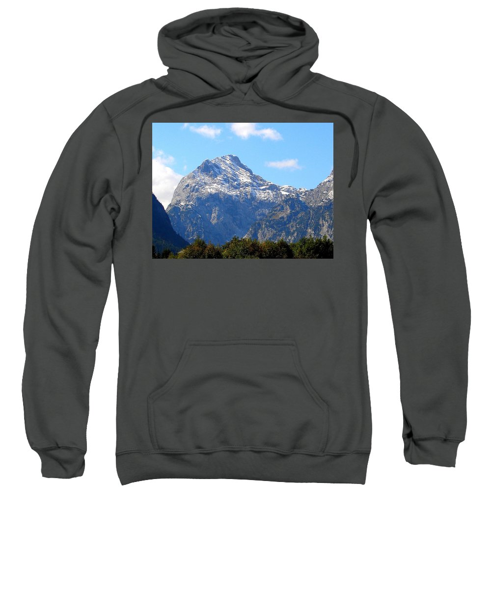 Earth Sweatshirt featuring the digital art Earth by Bert Mailer
