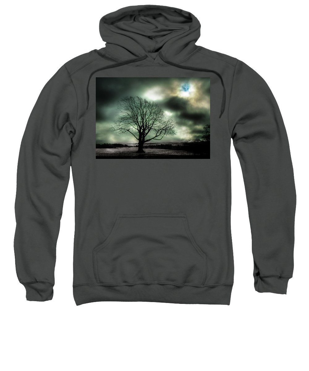 Eclipse Sweatshirt featuring the photograph Eclipse by David Cameron