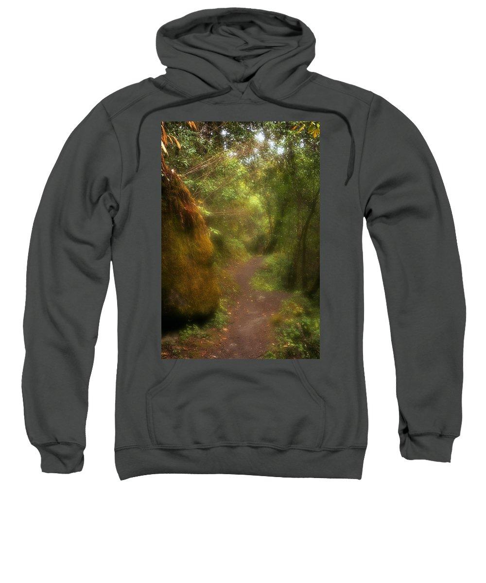 Path Sweatshirt featuring the photograph El Camino by Patrick Klauss