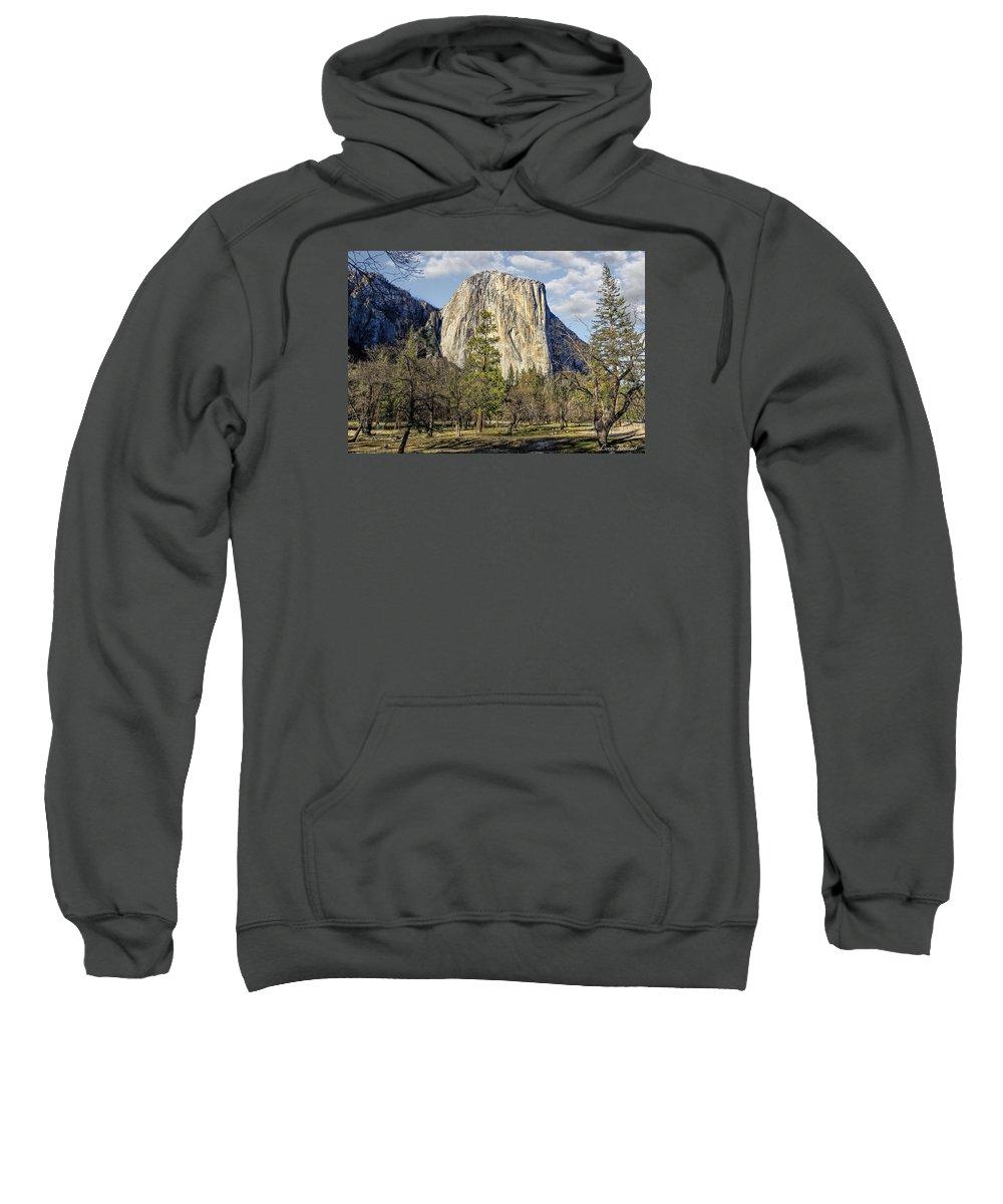 California Sweatshirt featuring the photograph El Capitan by Leon Roland