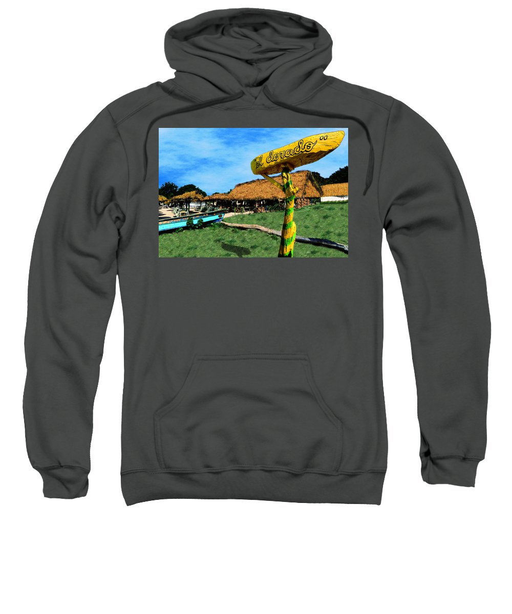 Photography Sweatshirt featuring the photograph El Dorado by Paul Wear