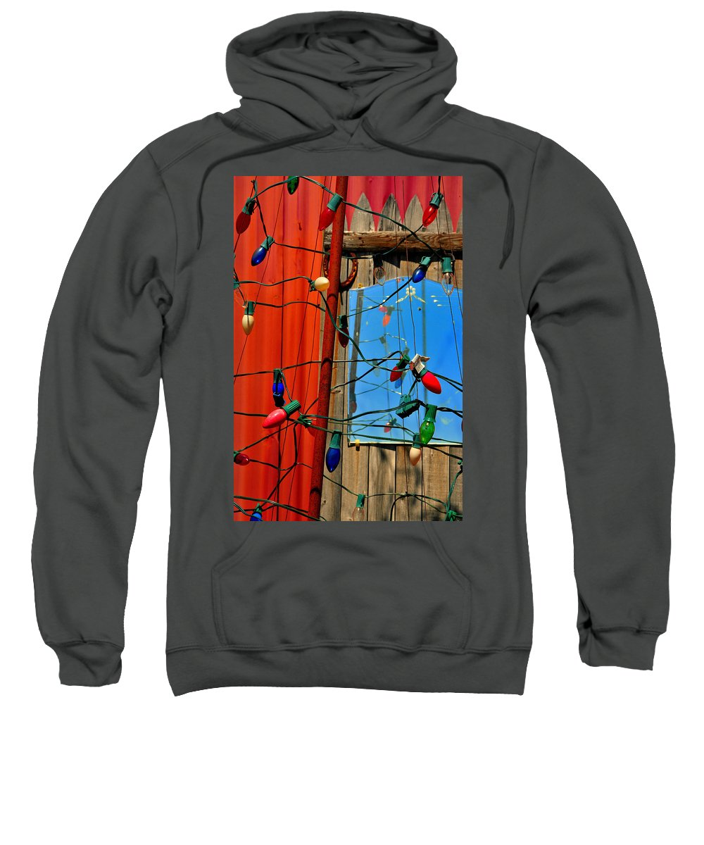 Skip Hunt Sweatshirt featuring the photograph Electric Lady Land by Skip Hunt