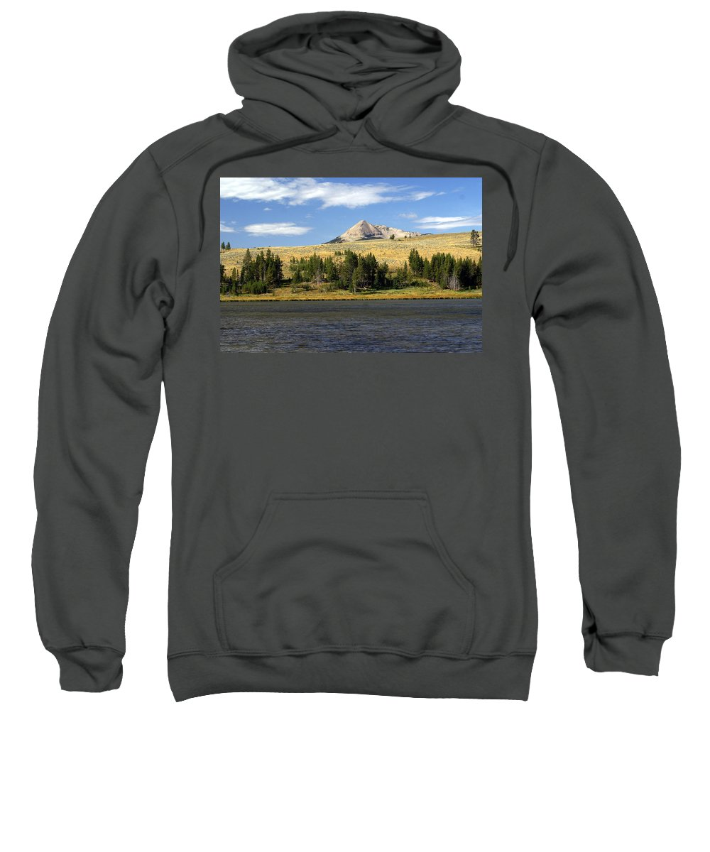Yellowstone National Park Sweatshirt featuring the photograph Electric Peak 1 by Marty Koch