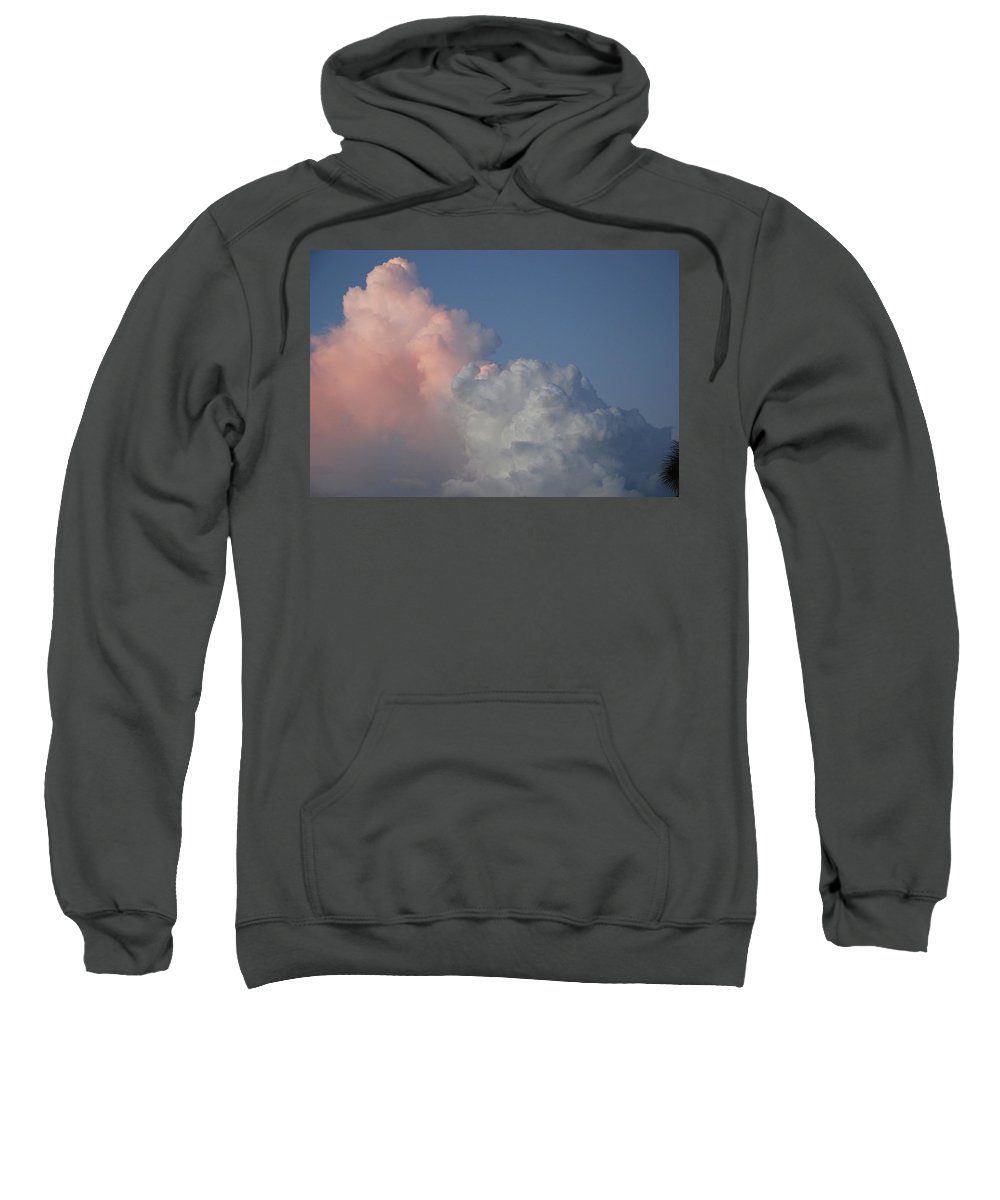 Clouds Sweatshirt featuring the photograph Elephant Cloud by Rob Hans