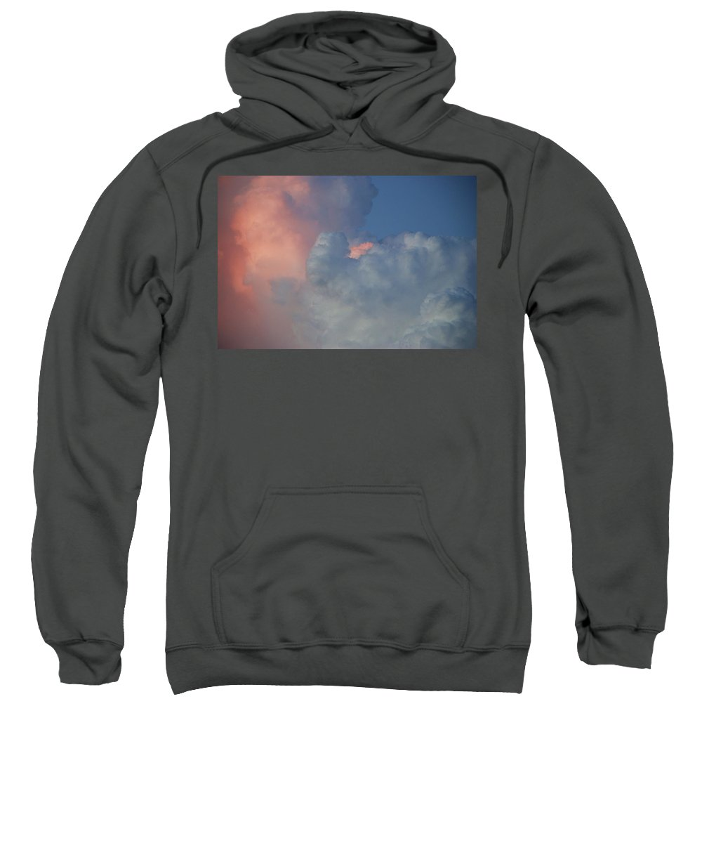 Clouds Sweatshirt featuring the photograph Elephant In The Sky by Rob Hans