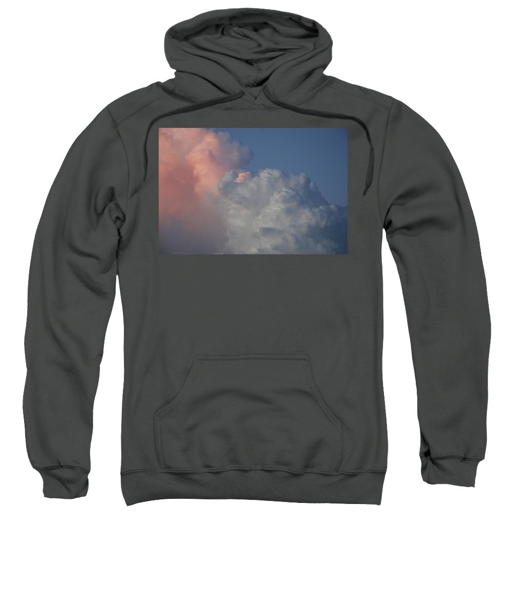 Clouds Sweatshirt featuring the photograph Elephant Sky by Rob Hans