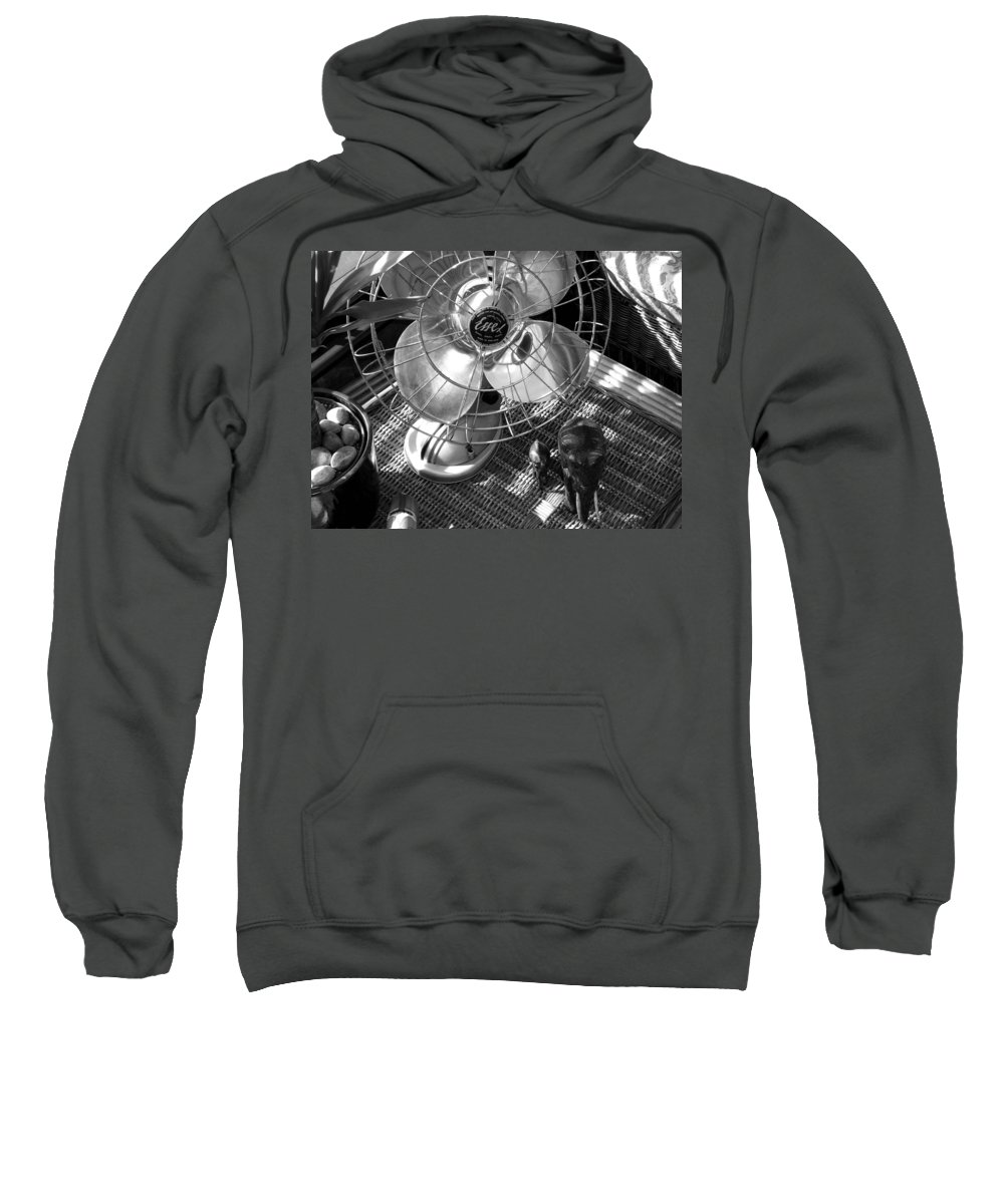 Still Life Sweatshirt featuring the photograph Elephant Walk by Charles Stuart