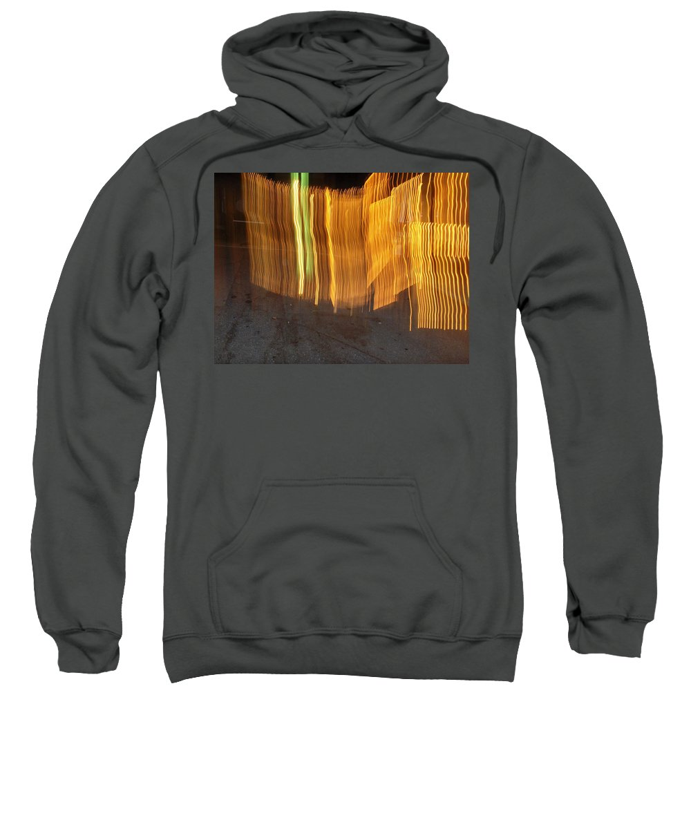 Photograph Sweatshirt featuring the photograph Eletric Fence by Thomas Valentine