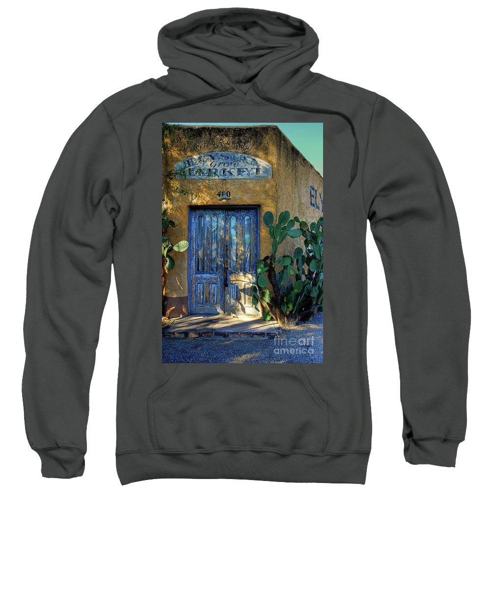 Door Sweatshirt featuring the photograph Elysian Grove In The Morning by Lois Bryan