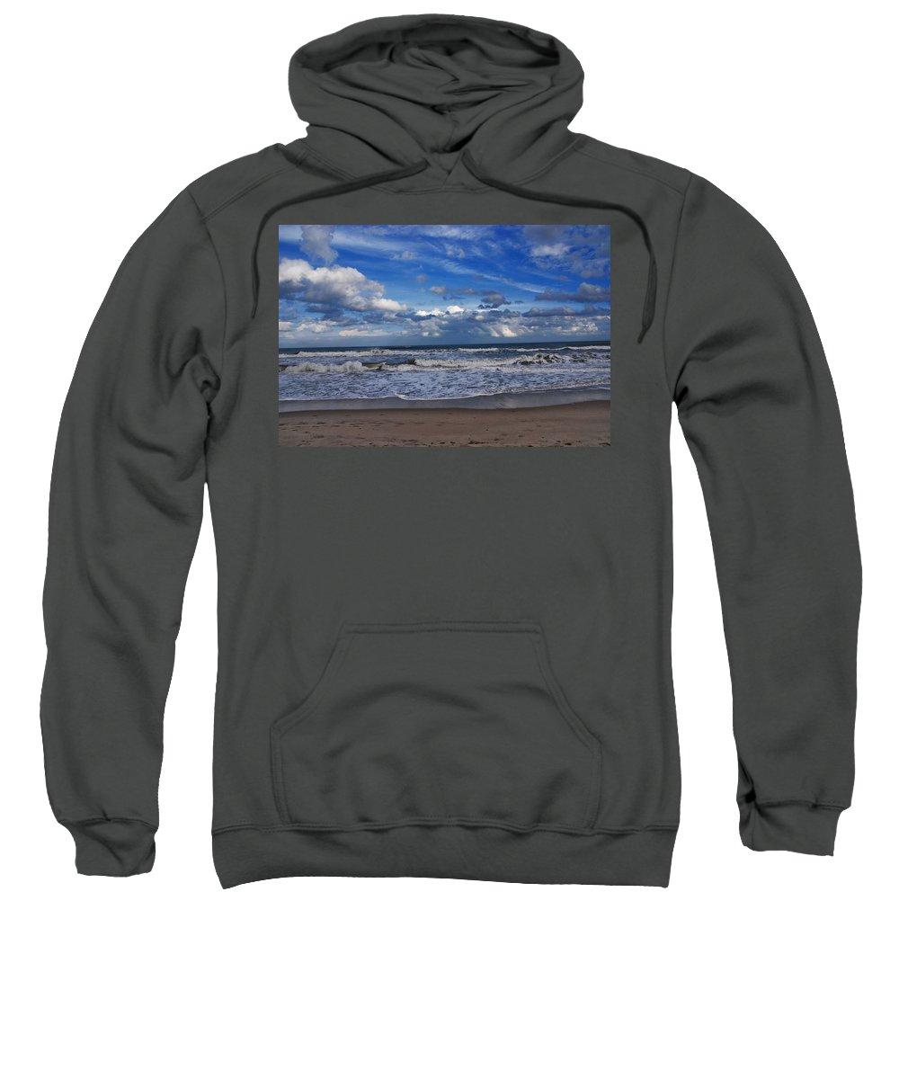 Ocean Sweatshirt featuring the photograph Endless Ocean by Susanne Van Hulst