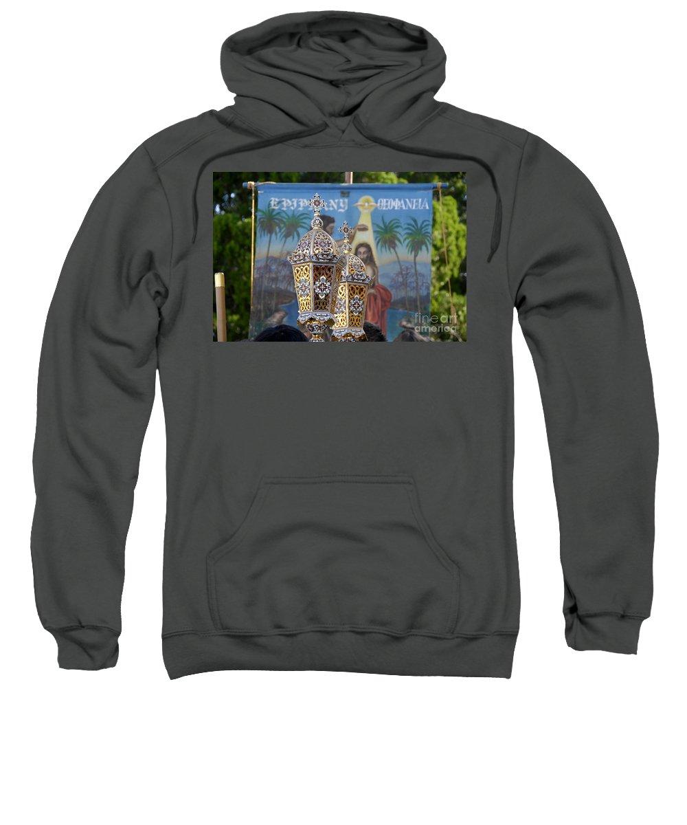 Epiphany Sweatshirt featuring the photograph Epiphany Celebration by David Lee Thompson