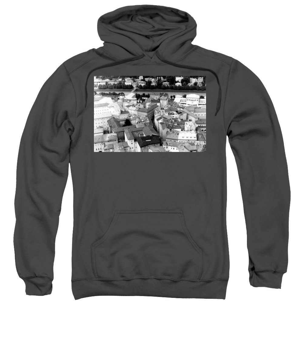 Rofftops Sweatshirt featuring the photograph European Rooftops by Michelle Calkins