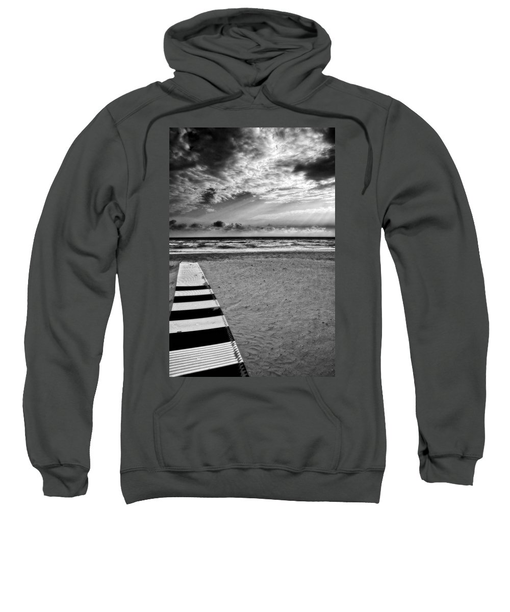 Landscape Sweatshirt featuring the photograph Evening Tide by Silvia Ganora