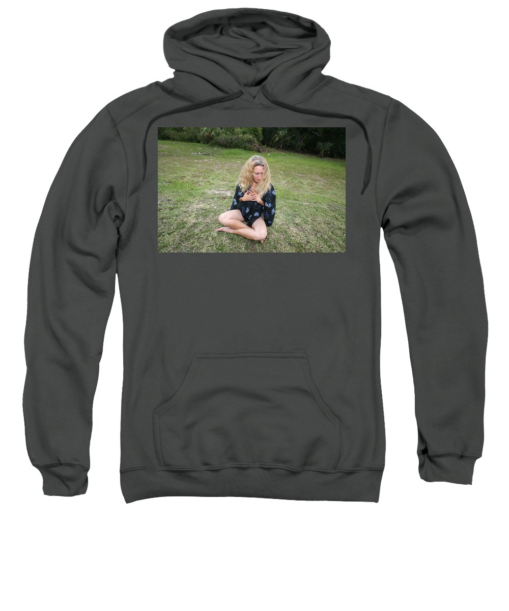 Everglades City Fl.professional Photographer Lucky Cole Sweatshirt featuring the photograph Everglades City Beauty 125 by Lucky Cole