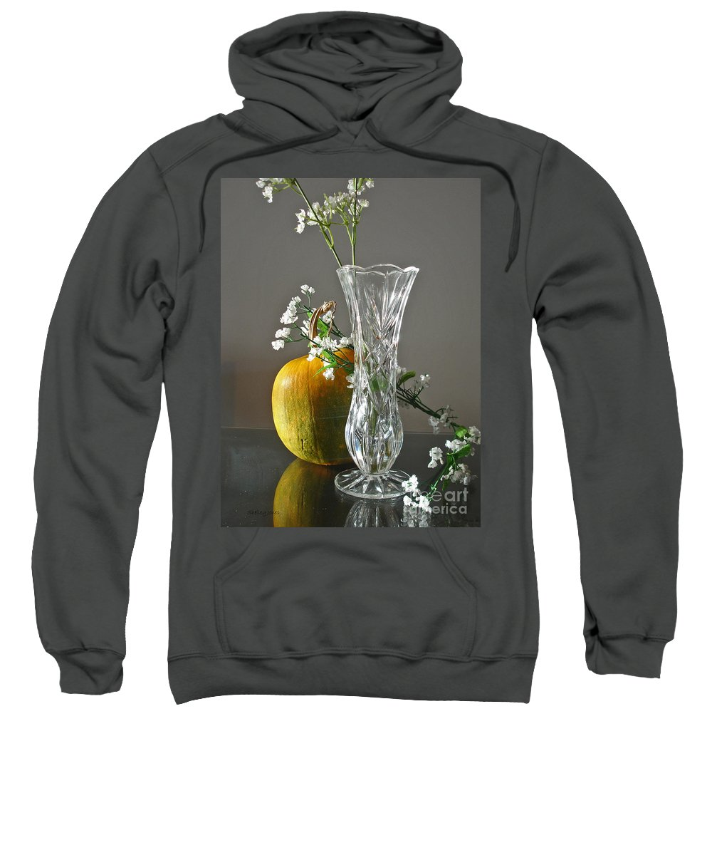 Still Life Sweatshirt featuring the photograph Everlasting Harvest by Shelley Jones