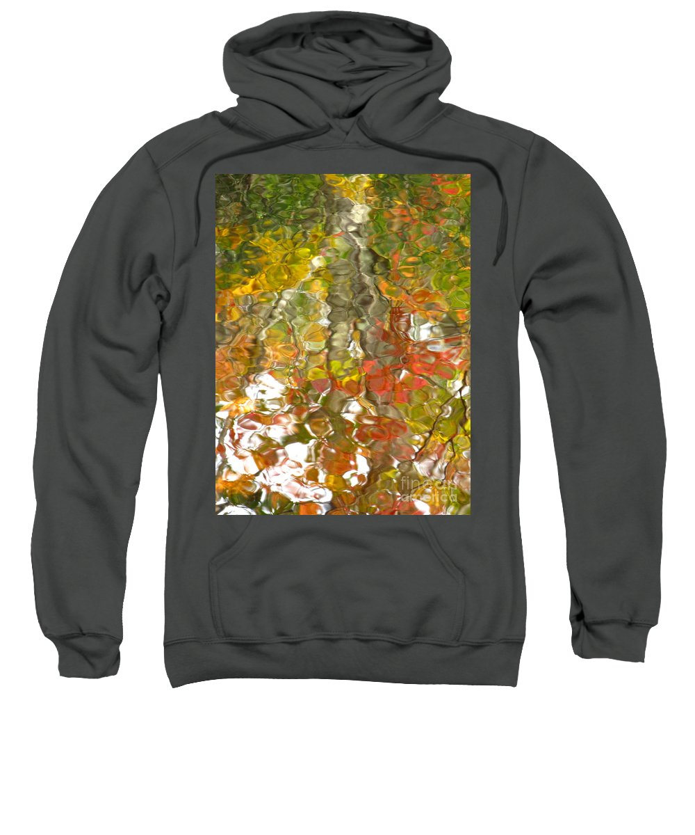 Water Art Sweatshirt featuring the photograph Evidence Of Joy - Feel by Sybil Staples
