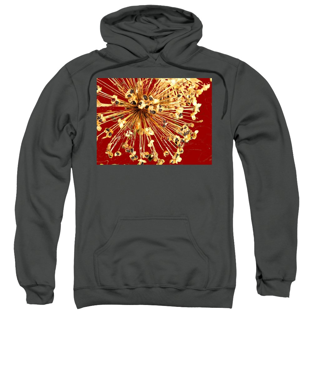 Explosion Sweatshirt featuring the photograph Explosion Enhanced by Ian MacDonald