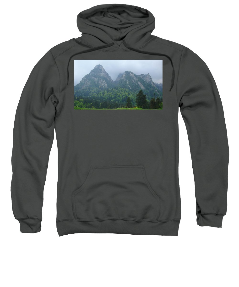 Mountain Landscape Sweatshirt featuring the photograph Expressions by Georgeta Blanaru