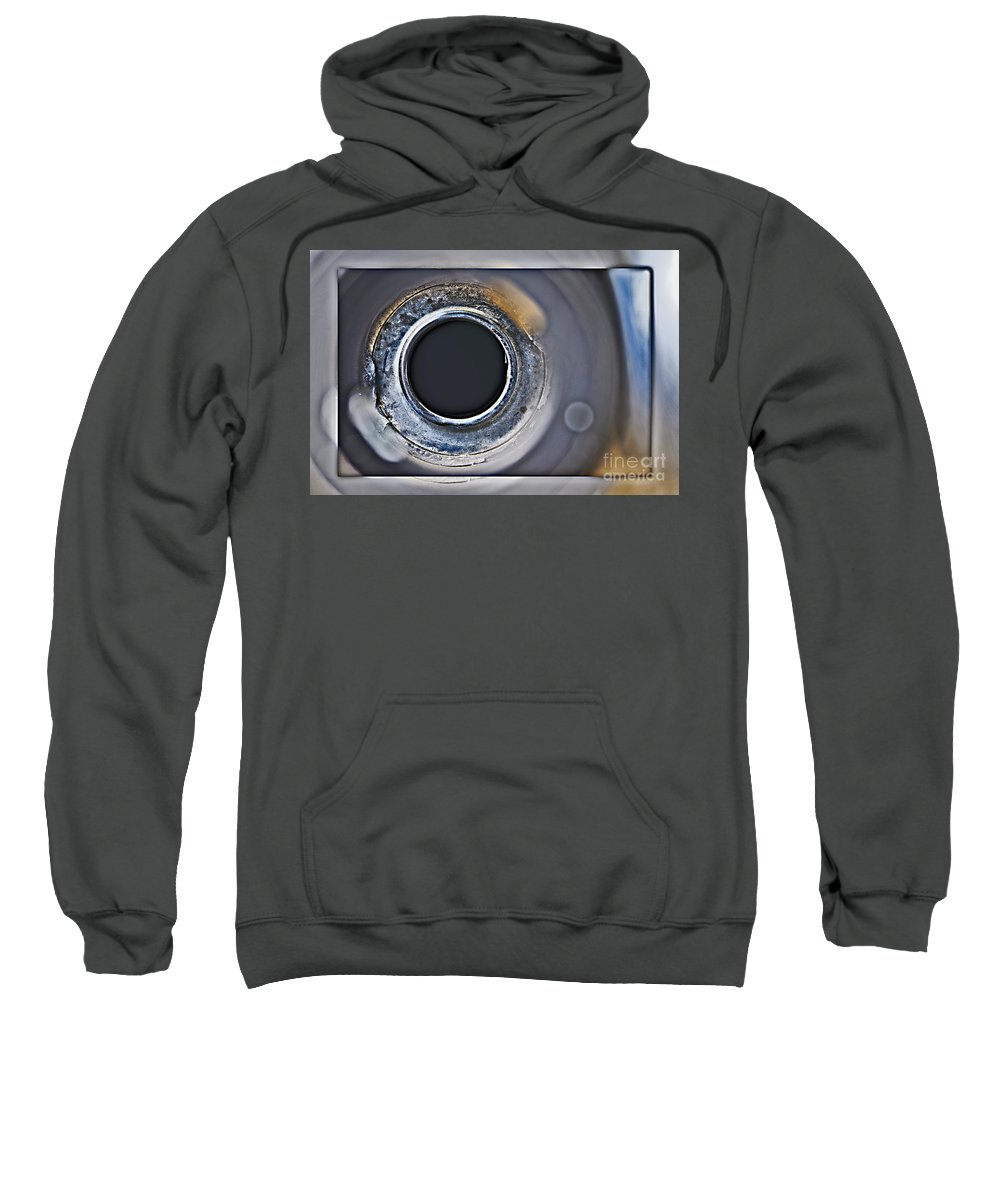 Abstract Sweatshirt featuring the photograph F I S H E Y E by Charles Dobbs