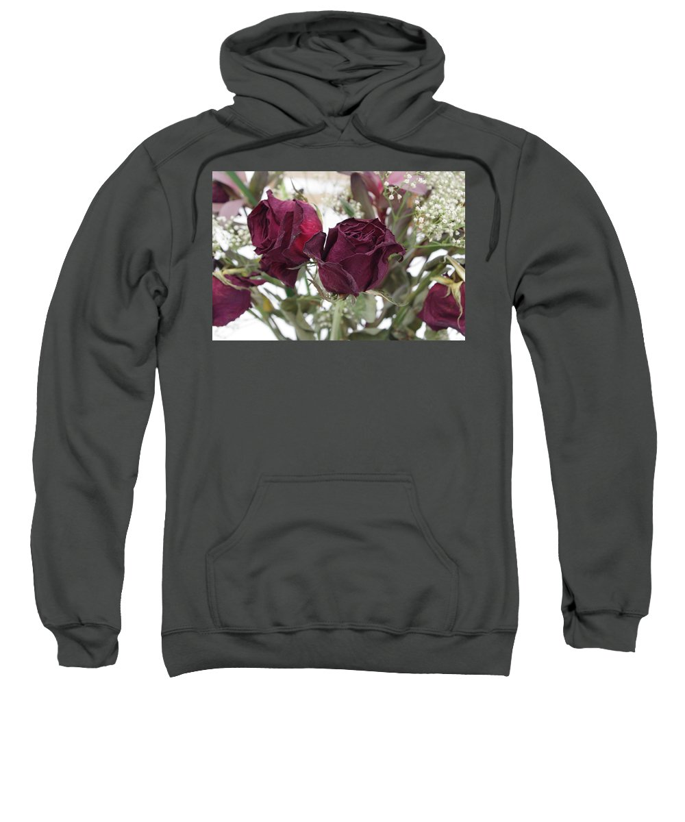 Rose Sweatshirt featuring the photograph Faded Rose 2 by Alice Markham